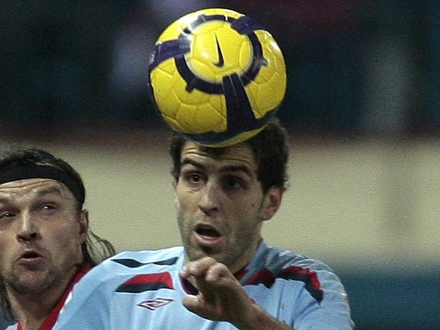 Rayo's Roberto Trashorras, when playing for Celta Vigo on January 21, 2010