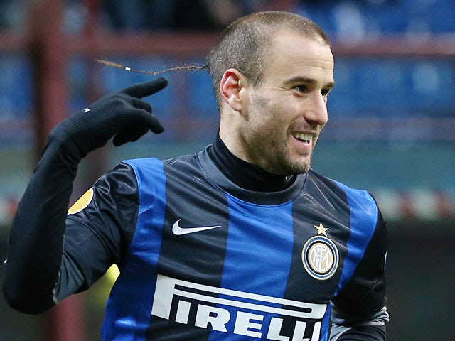 Result: Palacio double gives Inter advantage