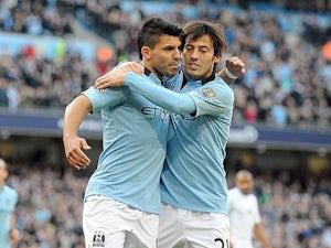 Team News: Aguero, Silva start for Man City