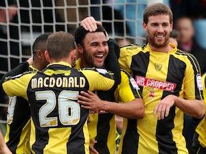 Team News: McGurk makes Burton debut