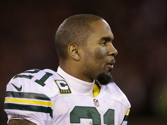 Packers safety Charles Woodson in action against the 49ers on January 12, 2013
