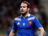 France's Frederic Michalak in action against Wales on February 9, 2013