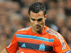Marseille's Jermey Morel in action against Arsenal on 19 October 2011