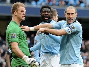 Hart hails Man City's defensive options