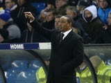 New Blackpool manager Paul Ince during his side's match against Leeds United on February 20, 2013