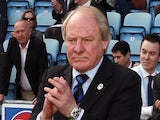 Former Bradford and Swansea manager Terry Yorath, during 'Legends Day' celebrations at Coventry City on March 24, 2012