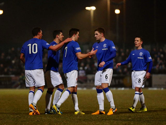 Result: Rangers draw with Stirling