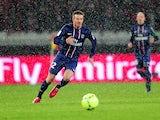 David Beckham playing for Paris Saint-Germain on February 24, 2013