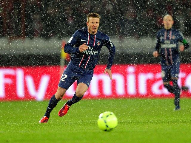Ancelotti: 'Beckham is a fantastic player'