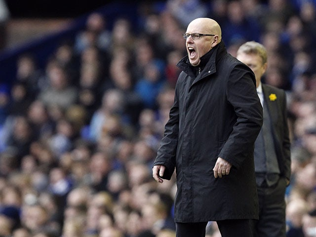 Reading manager Brian McDermott during his side's match against Everton on March 2, 2013