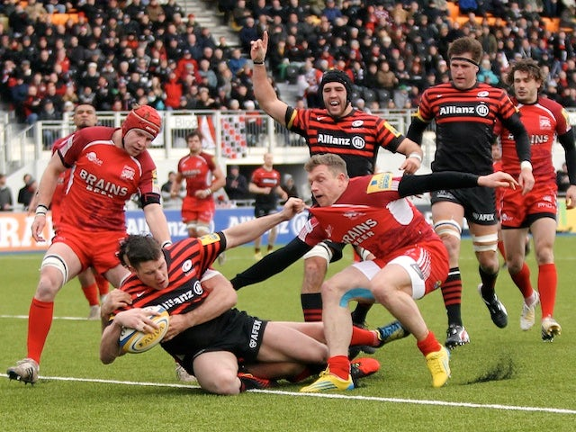 Result: Saracens go top with win