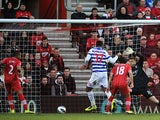 Queens Park Rangers' Jay Bothroyd scores his side's second goal against Southampton on March 2, 2013