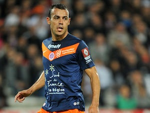 Montpellier's Vitorino Hilton during a game on October 29, 2011
