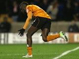 Wolverehampton Wanderers' Bakary Sako celebrates scoring against Watford on March 1, 2013