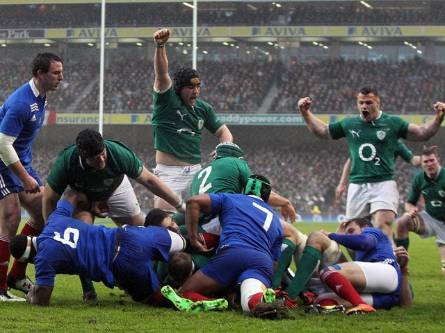 Result: Stubborn France deny Ireland