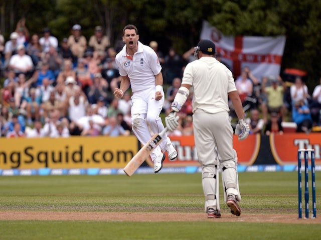 Anderson takes 300th Test wicket
