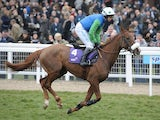 Jessies Dream ridden by Timmy Murphy at Ladies Day at Cheltenham on March 16, 2011