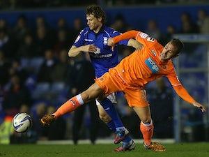 Half-Time Report: Davies strike hands Birmingham lead