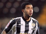 Notts County's Joss Labadie in action on January 22, 2013
