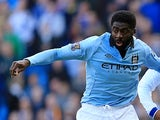 Manchester City's Kolo Toure in action on February 17, 2013