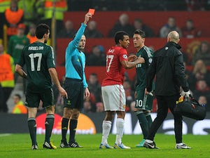 Collins hits out at Keane over Nani red card