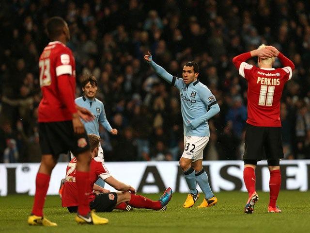 Result: Man City thrash Barnsley