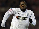 Preston North End's Nathan Ellington during a match on February 22, 2011