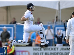 Compton delighted with maiden ton
