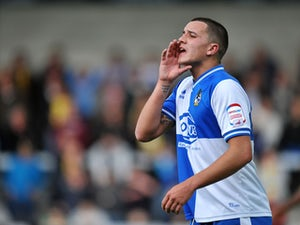 Bristol Rovers player Oliver Norburn during his side's match against Burton Albion on October 13, 2012