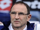 Sunderland manager Martin O'Neill prior to his side's match with QPR on March 9, 2013