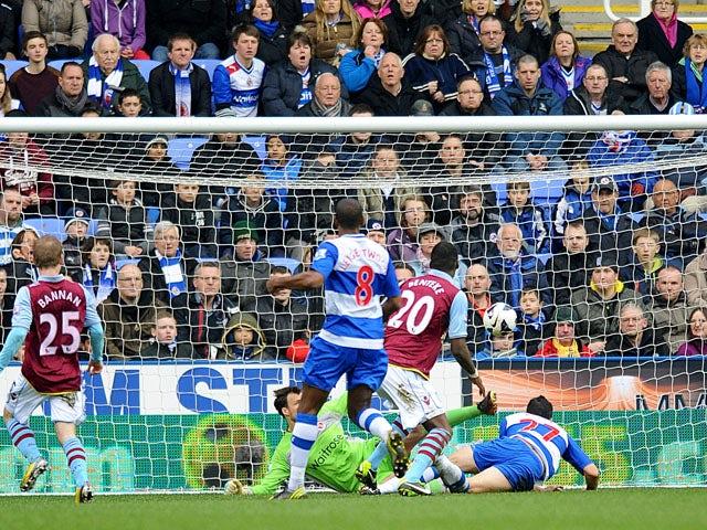 Result: Villa fightback downs Reading