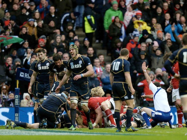 Result: Hibbard try helps Wales to victory