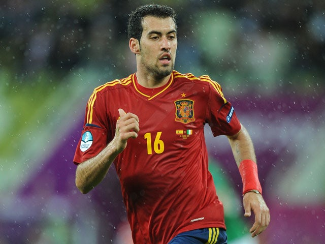 Busquets not looking past Finland
