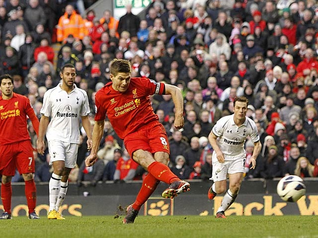 Result: Gerrard seals points for Liverpool