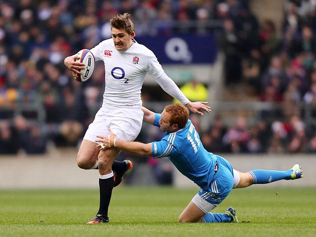 Result: Flood kicks England to victory