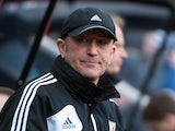Stoke boss Tony Pulis in the dugout during the match against Newcastle on March 10, 2013