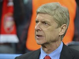 Arsenal boss Arsene Wenger before the match against Bayern Munich on March 13, 2013