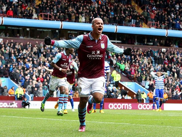 Result: Villa edge out QPR in five-goal thriller