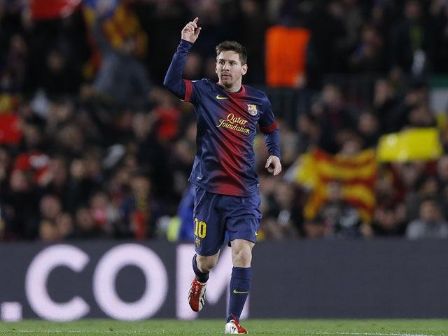 Messi overtakes Van Nistelrooy