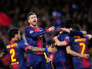 Barcelona to battle PSG in final eight