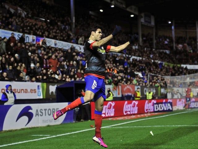 Team News: Costa replaces Falcao for Atletico