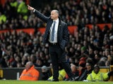 Reading caretaker manager Eamonn Dolan on the touchline against Man Utd on March 16, 2013