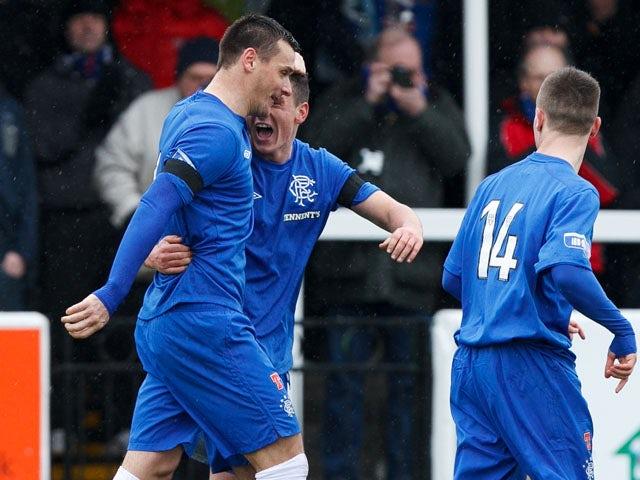 Result: Second-half goals seal win for Rangers