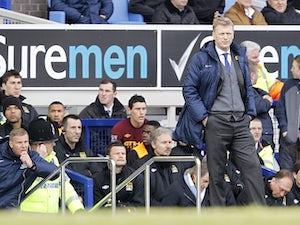 Moyes: 'Everton need to rebuild'