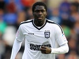Ipswich's Guirane N'Daw in action against Birmingham City on November 3, 2012