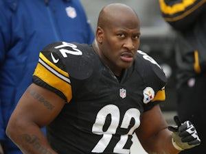 Harrison released by Steelers