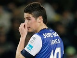 Porto's James Rodriguez in action against Sporting Lisbon on March 2, 2013