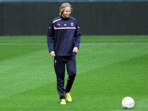 Bordeaux's captain Jaroslav Plasil during a training session on October 3, 2012