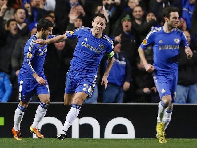 Result: Chelsea overcome Steaua challenge