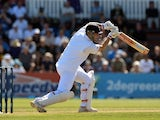 England batsman Jonathan Trott in action against New Zealand on March 14, 2013